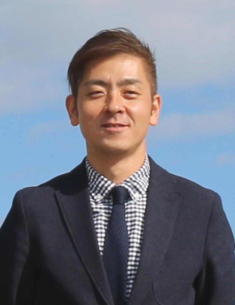 代表社員 磯崎悠耶の写真